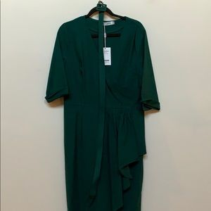 Muxxn green long sleeve dress